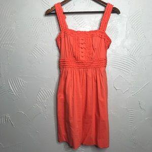 BCBG Orange Summer Dress with Pockets